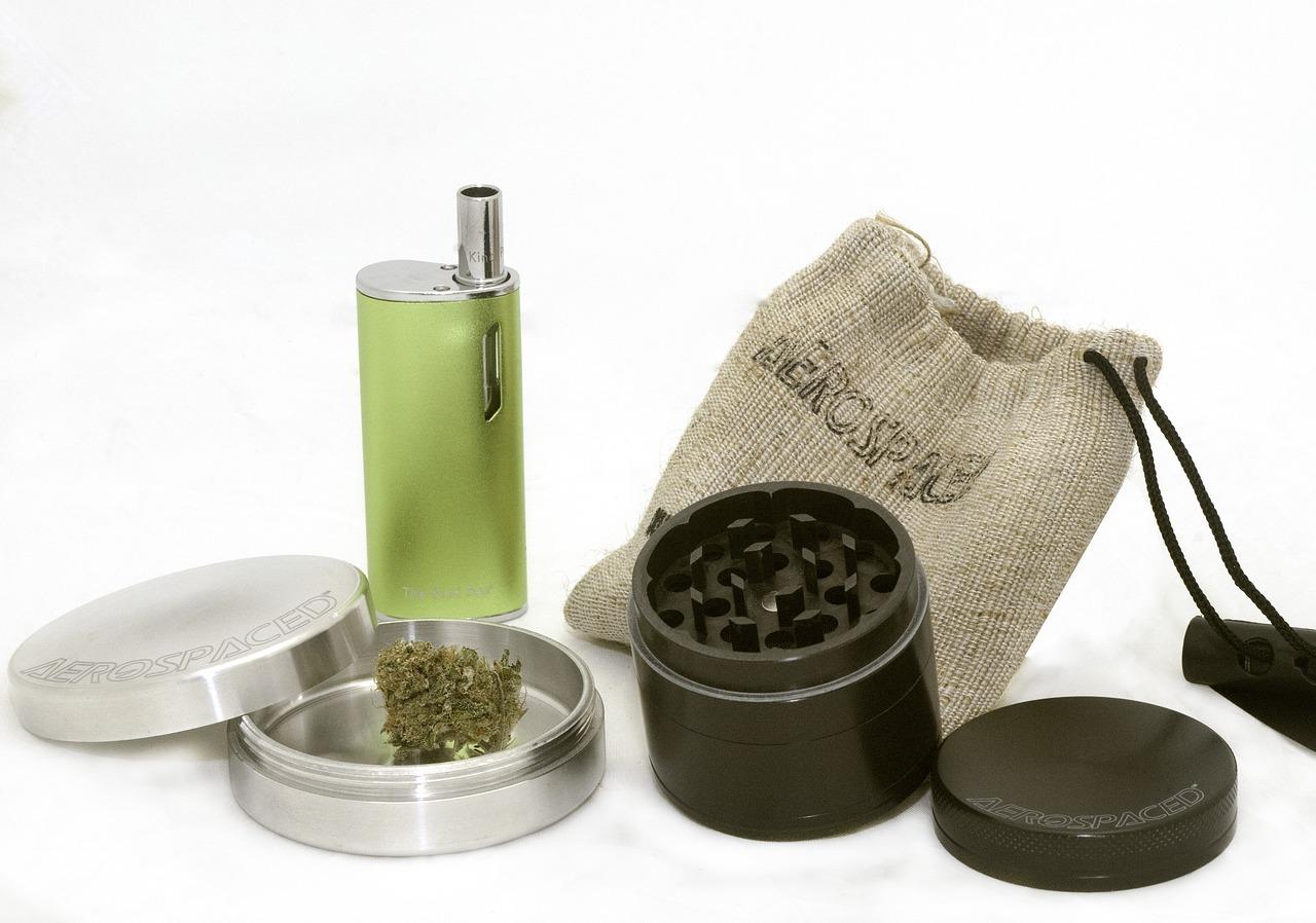 grinder, cannabis, dry herb vaporizer